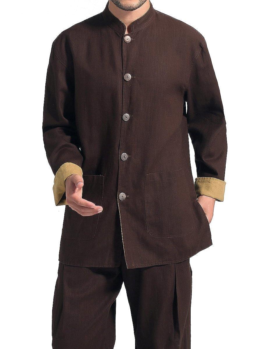 Bitablue Men's Reversible Mao Suit Style Jacket CH290207-US00