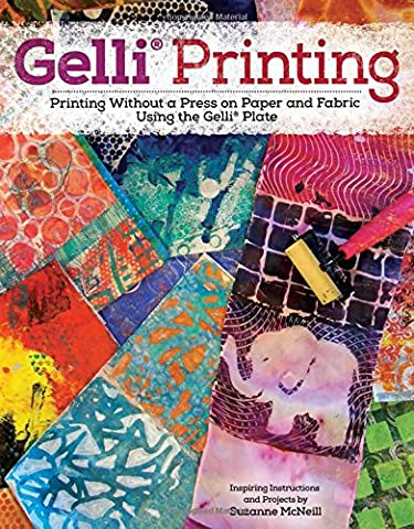 Gelli Printing: Printing Without a Press on Paper and