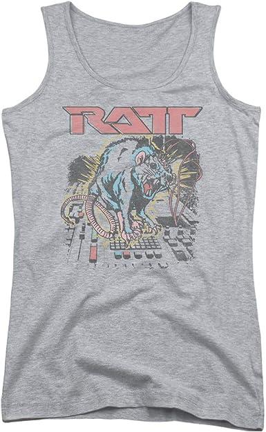 Ratt Juniors Tank Top Shocked Athletic Heather Tanktop