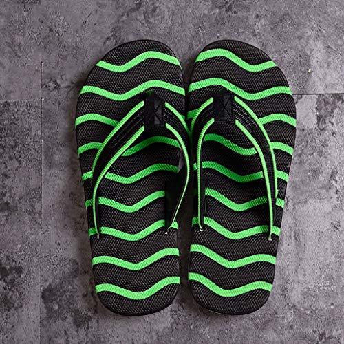 Rayada Moda Libre Manera Zapatillas 41 De Antideslizantes La tamaño Simples Al Chanclas Aire Huyp Personalidad qffwvTEp