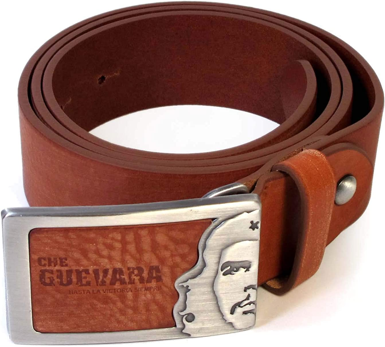 Mens Real Genuine Leather Belt Black Brown White 1.5 Wide S-L Casual Jeans TM3
