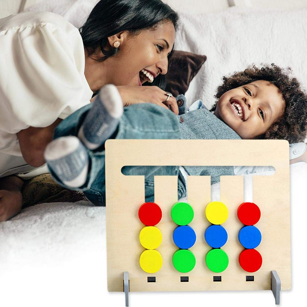 Buy Sunsoar Wooden Four-Color Fruit Logic Game Children Kids Early  Educational Toys Set Birthday Chriamas New Year Gift Car Trunk Education  Learning Online at Low Prices in India - Amazon.in