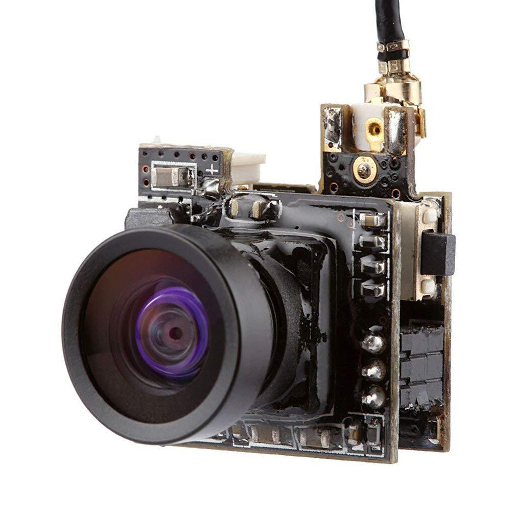 FairytaleMM Telecamera a piccolo formato da 5, 8 G 25 mW 40 canali Raceband FPV AV AIO (colore: nero)