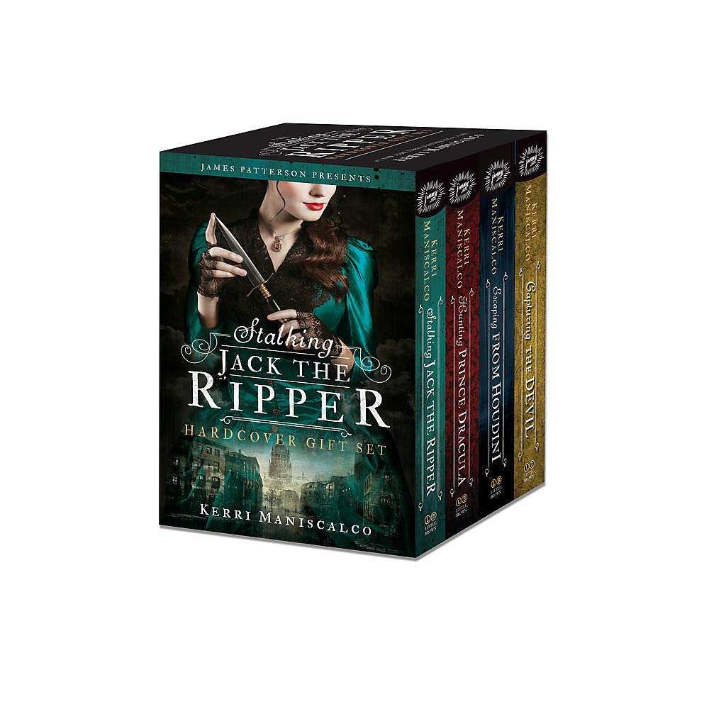 The Stalking Jack the Ripper Series Hardcover Gift Set by jimmy patterson