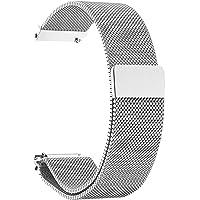 Cinturino 14/16/18/20/22/23/24mm Magnetico Milanese Loop Milanese Cinturino Chiusura Magnetica