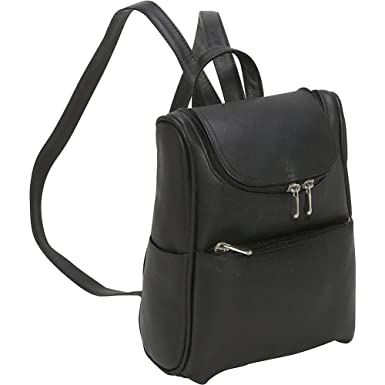 Amazon.com | Le Donne Leather Women's Everyday Backpack Purse ...