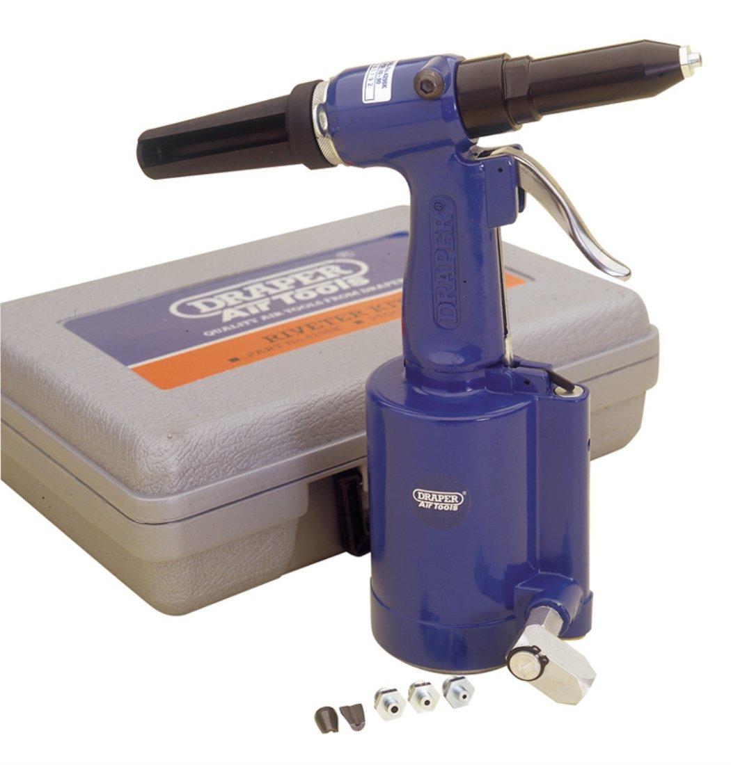 Draper 33746 Air Riveter Kit with Case Air Tools & Compressors Sets Power Tools