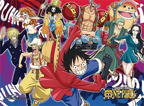 Amazon com: One Piece Group 3 High End Wall Scroll Anime