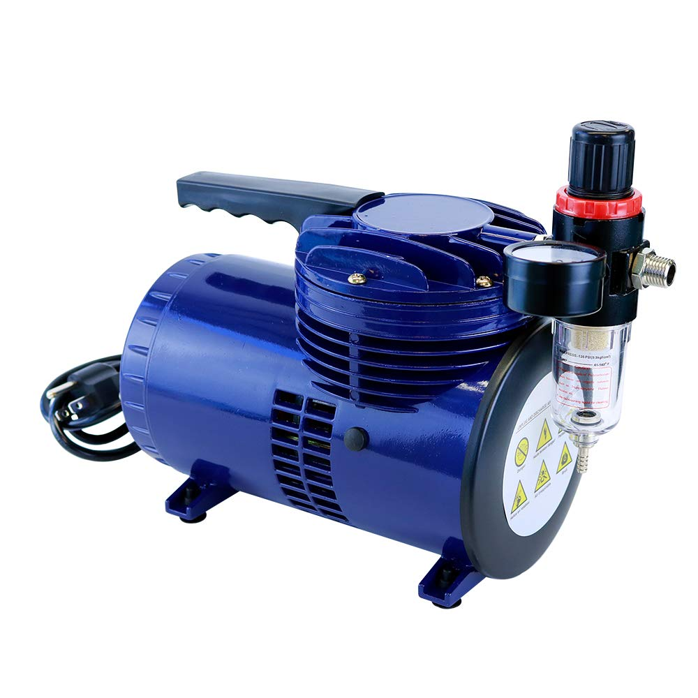 Paasche D220R 1/6 HP Compressor with Regulator and Moisture Trap by Paasche Airbrush