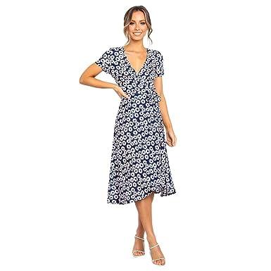 7a0d4673da81 Cocoty-store 2019 Vestido Largo Floral Print Casual Verano para ...