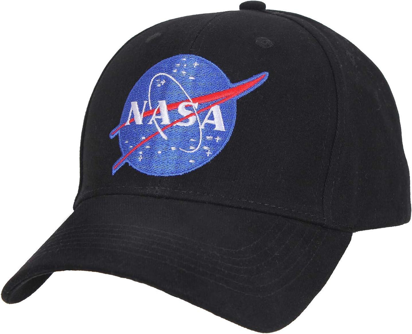 Rothco NASA Low Pro Cap Black: Clothing
