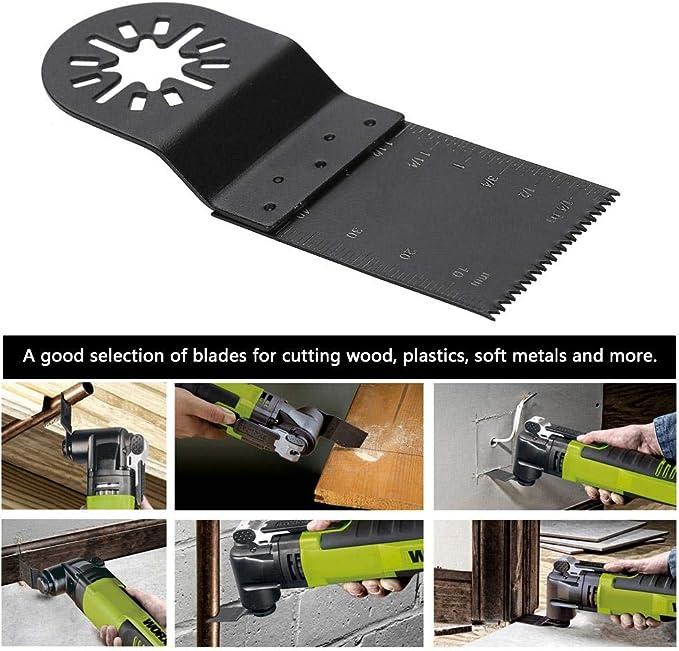 30X oszillierende Sägeblätter Multi-Tool für Fein Multimaster Dewalt Makita 65mm