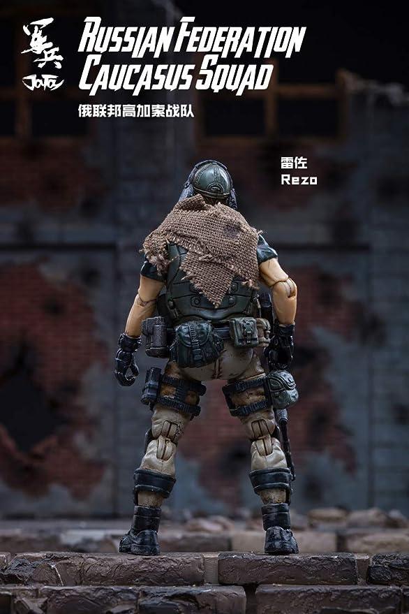 1//18 JOYTOY Action Figure Soldier RUSSIAN FEDERATION CAUCASUS SQUAD Model 1pcs