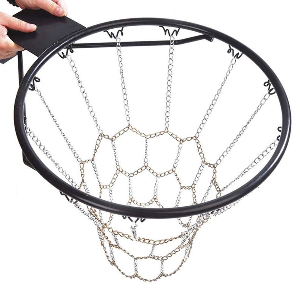 Resistente e Durevole. Lucky-all star Rete da Basket con Catena in Acciaio galvanizzato