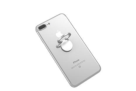 Kronya | Portaobjetos giratorio 360 ° para smartphone | Sostenedor aptitud dedo coche celular anillo soporte