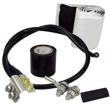 altelix coaxial kit de conexión a tierra para lmr-600 serie ...