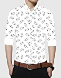 HOOPOES Men's Cotton Shirt for Men Latest Shirt Fabric for Men Unstitched