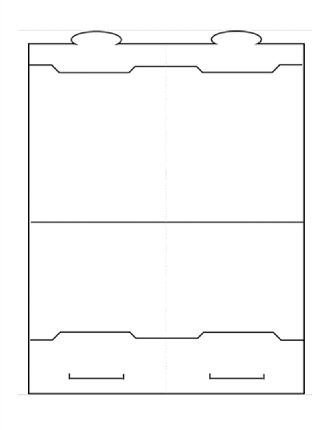 Listo para imprimir plegable mesa tienda de campaña (3 - 3/4