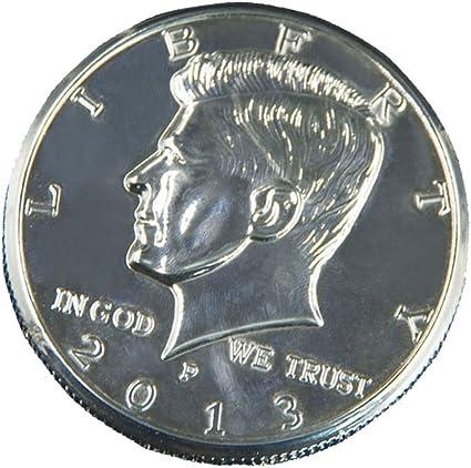 Desconocido Truco de la Moneda Primer Plano Magia de Dólar Llusión ...