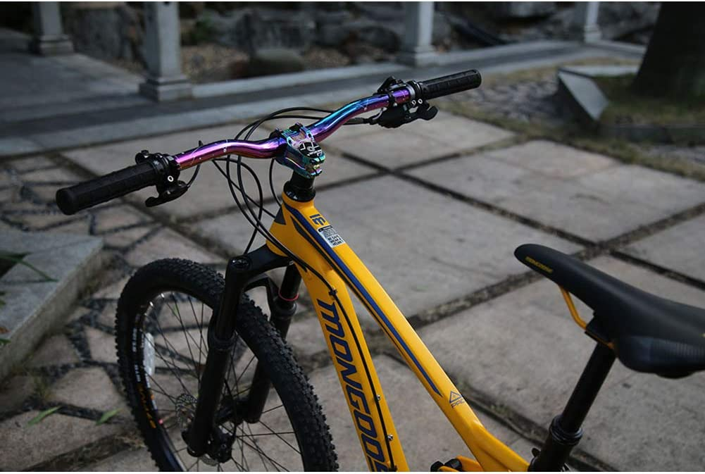 MTB Mountain Bike Handlebar 31.8mm Aluminum Alloy Cycle Bicycle Handlebar Riser Bar Extra Long 29.3in