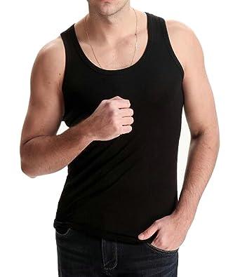 62659b7d3d357 Nanquan Men NQ Mens Classic Solid Slim Fit Fitness Round Neck Plus Size  Jersey T-Shirt Tank Top at Amazon Men s Clothing store