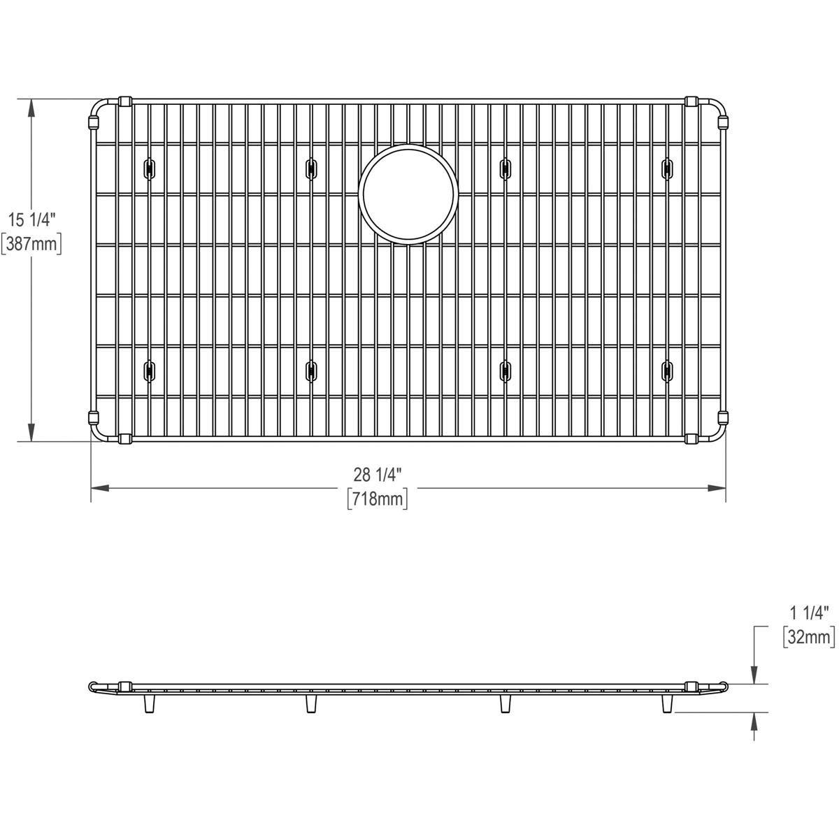 Elkay EBG2815 Stainless Steel Bottom Grid by Elkay (Image #4)
