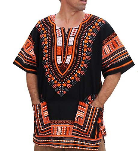 raanpahmuang-brand-unisex-bright-african-black-dashiki-cotton-shirt-x-large-orange-black