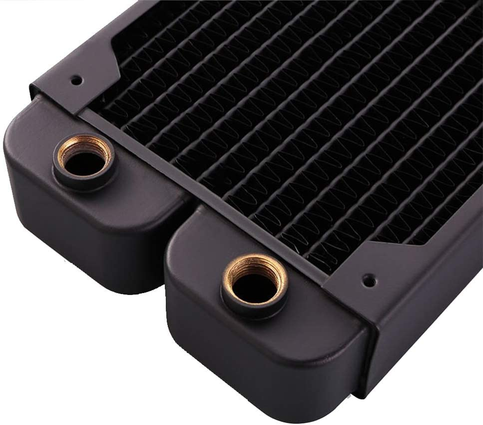 B-RD360-TK Thickness 39mm Bykski B-RD120 240 360-TK Pure Copper Water-Cooled Row Thick Row