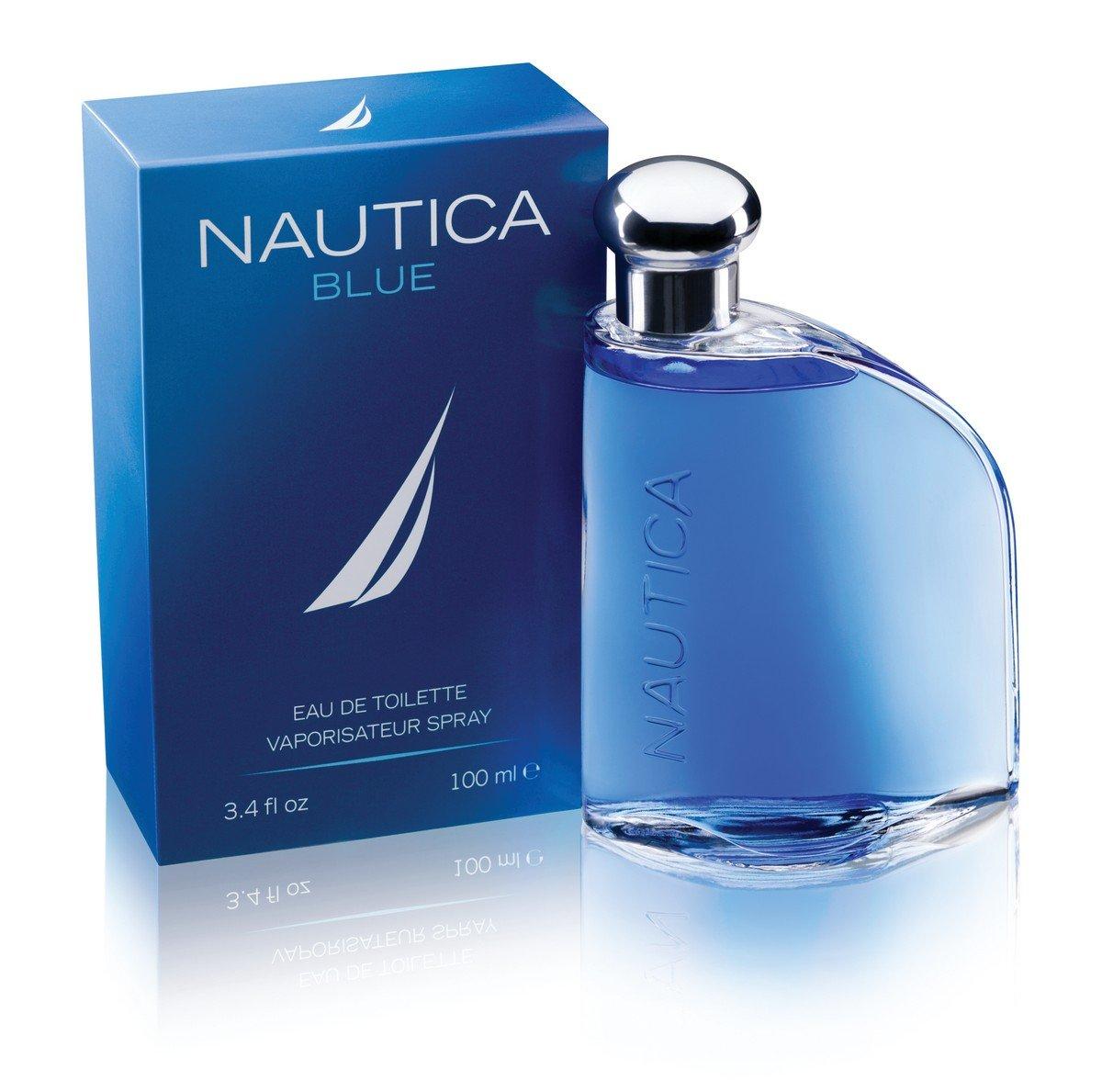amazon com nautica blue by nautica for men edt spray 3 4 oz
