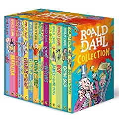 With striking new artwork to celebrate the Roald Dahl 100 celebrations and a keepsake slipcase featuring Quentin Blake's iconic illustrations, this 16-book collection brings together all the classic children's novels from the one and only Roa...