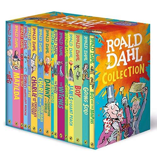 Roald Dahl Collection 16 Books Box Set Paperback – January 1, 2018