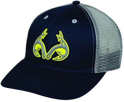 e859db52 Amazon.com: Outdoor Cap Men's Realtree Fishing Logo Cap, Navy/Gray ...