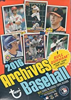 2016 Topps Archives MLB Baseball Series Unopened Blaster Box with Bull Durham Card Plus Possible Autographs