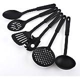 Luvina Nylon Heat-Resistant Nonstick Spoon Spatula Turner Scoop Kitchen Cooking Utensil Tools Set,6 Pcs/Set
