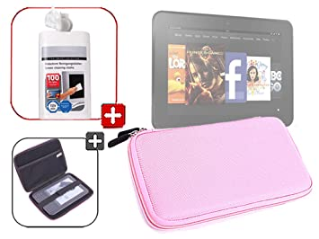 DURAGADGET-Funda rígida impermeable de goma EVA, diseño de toallitas limpiadoras para pantallas tablet