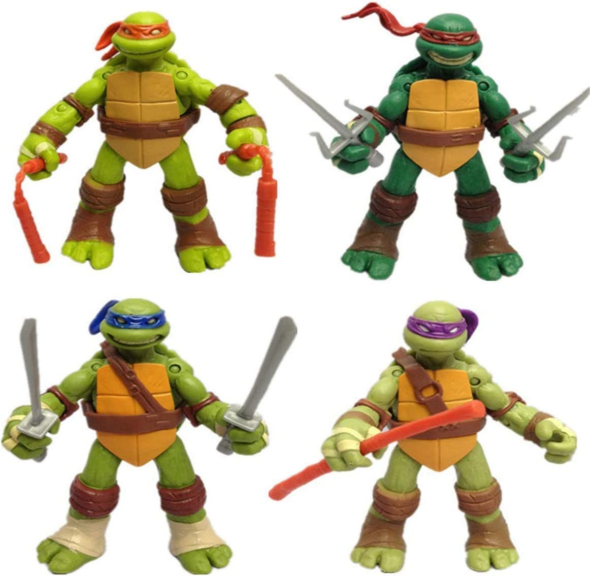 New 5/'/' TMNT One Pcs Teenage Mutant Ninja Turtles Michelangelo Action PVC Figure