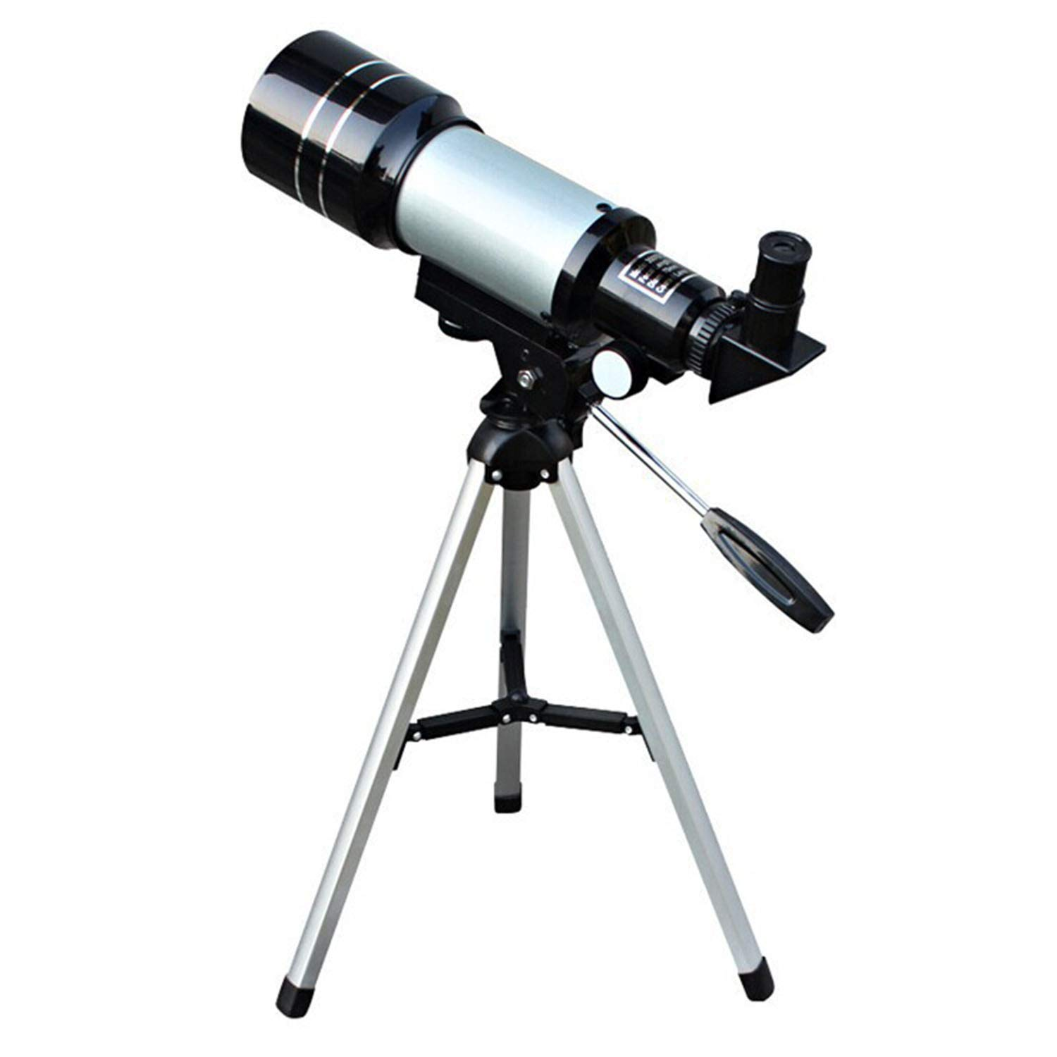 YAMADIE Children's Professional Astronomical Telescope, Single Tube, with A Tripod Student Gift Maximum Magnification 150 Times