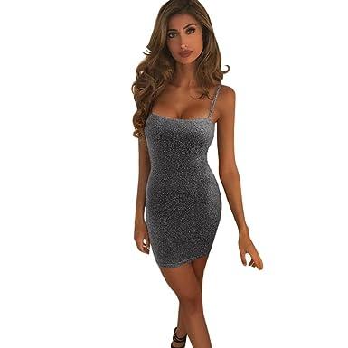 4575125c9982 Lolittas Women Dresses Sexy Strappy Slip Dress Sleeveless Sling Bodycon  Pencil Tunic Tight Wrap Hip Dress