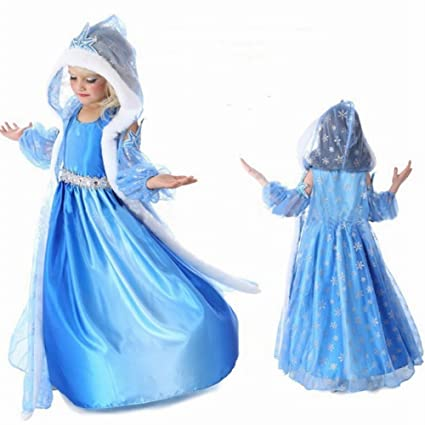 ca8ec6d177 Girl's Snow Queen Fever Dress - Princess Costume for Kids by Fairy ...