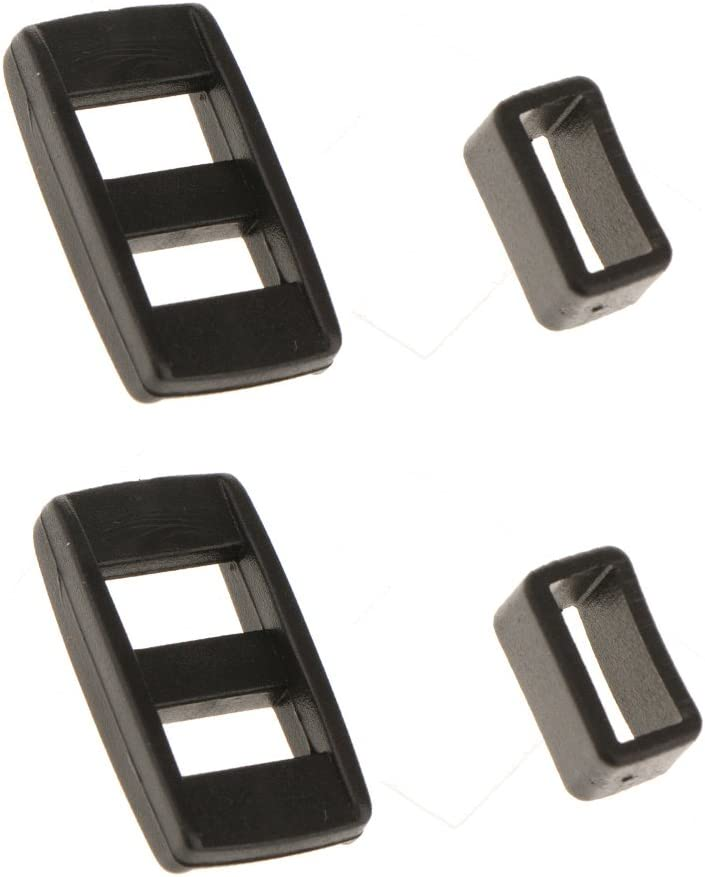 gazechimp 2 Pair Replacement Triglides Slides Adjustment Buckle Set for Camera Strap