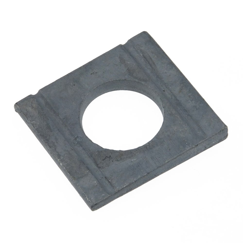 Scheiben DIN 434 Stahl feuerverzinkt ÜH vierkant Neigung 8/% keilförmig