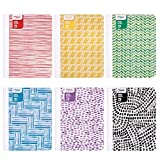 Mead Composition Books/Notebooks, Wide Ruled Paper, 70 Sheets, Fashion, Designs Selected For You, 12 Pack (38224)