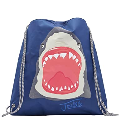 d9b564448262 Joules Junior Active Kids Bag One Size Shark SS17  Amazon.co.uk  Clothing
