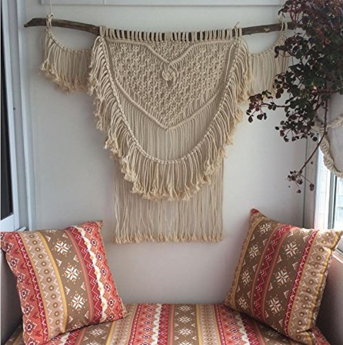 Macrame Wall Decor Hanging -  Geometric wall Art