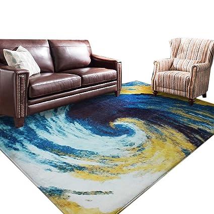 Amazon.com: JIAJUAN Area Rug Rectangle Big Rugs Living Room Bedside ...