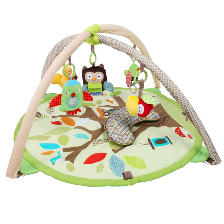 YXXHM- Lindo Infantil Redondo Estera de Arrastre Espesante 2 cm Bebé Juego Manta Escalada Mat 90  50 cm