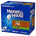 Maxwell House House Blend Decaf Coffee, Medium Roast, K-CUP Pods, 18 count
