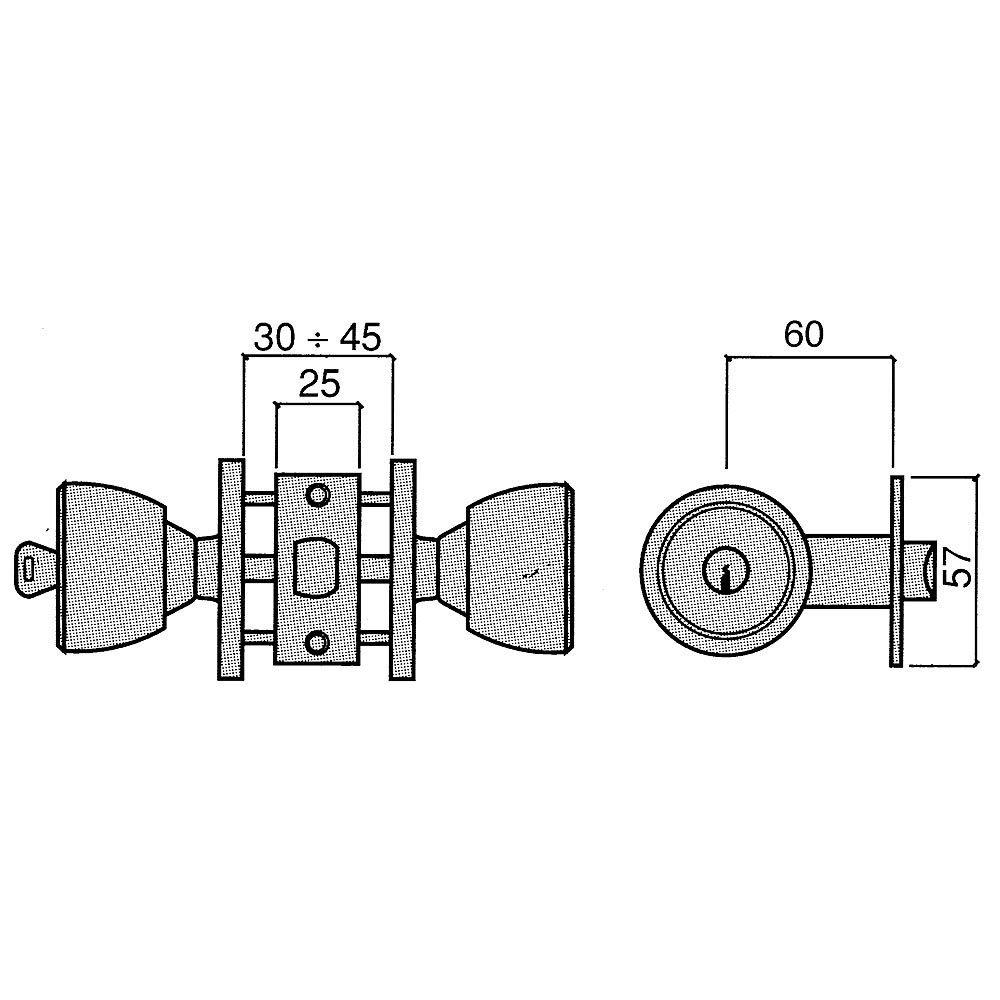 UCEM 3020087 Pomo 3000-al-laton//60