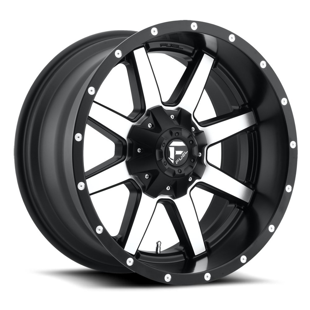 Fuel Offroad Wheels D537 20x9 Maverick 8x180 MB5.75 20 125.2 Black Machined