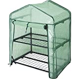 Kotulas 2-Tier Mini Greenhouse — 27in.W x 19in.D x 36 1/2in.H